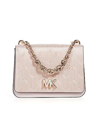 93ca45ce3744c4 Michael Kors Mott Large Twist Chain Shoulder Bag