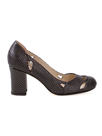 Sarah Chofakian Sapato de couro - Preto
