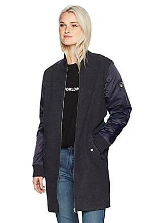 Obey Juniors Birmingham Coat, Heather Navy, L