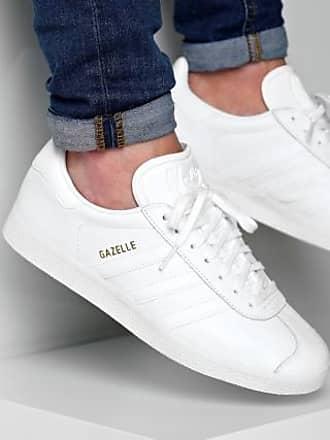 adidas Baskets Gazelle BB5498 Footwear White Gold Metallic 77acd651f0dd