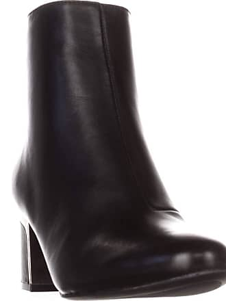 08cb04625edc DKNY Womens Corrie Leather Casual Ankle Boots