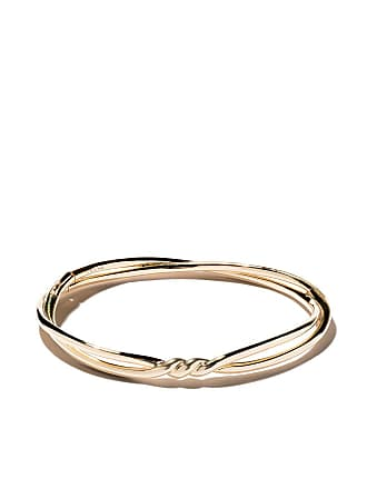 92bdeb301b David Yurman 18kt yellow gold Continuance center twist bangle - 88