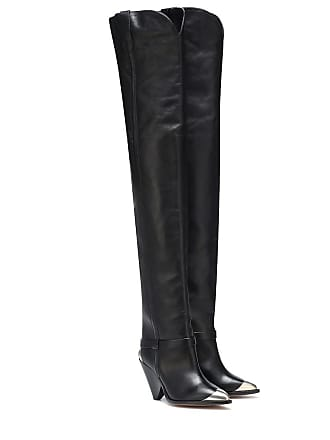 00be1af160e Delivery  free. Isabel Marant Lafsten leather over-the-knee boots