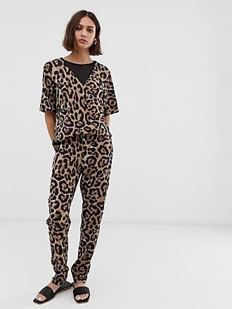 563bd7d17a62 b.young Combinaison à imprimé léopard - Multi