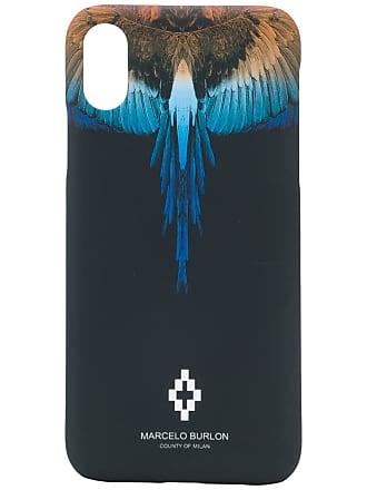 Marcelo Burlon Capa Wings para iPhone X/XS - Preto