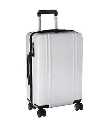 bf7607b75 Zero Halliburton ZRL Polycarbonate 22 - Domestic Carry-On Spinner (White)  Luggage