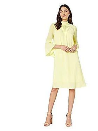Bcbgmaxazria BCBGMax Azria Womens Back Bow Shift Dress, Limelight, S