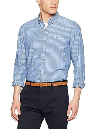 3750af75f690e Camel Active 315662-Camisas de Ocio Hombre Blau (Blue DEN 12) 50
