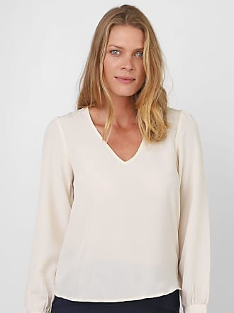 Vero Moda Blusa Vero Moda Lisa Bege