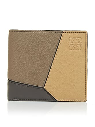 Loewe Puzzle Leather Bi-Fold Wallet