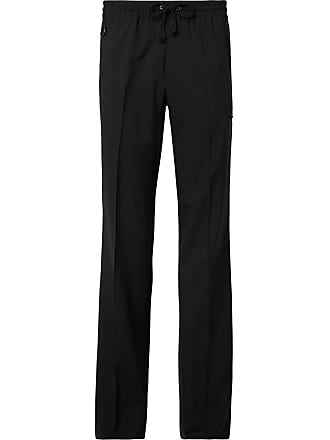 Undercover Black Wool Drawstring Trousers - Black