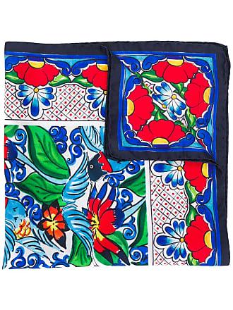 Escada printed bandana scarf - Vermelho