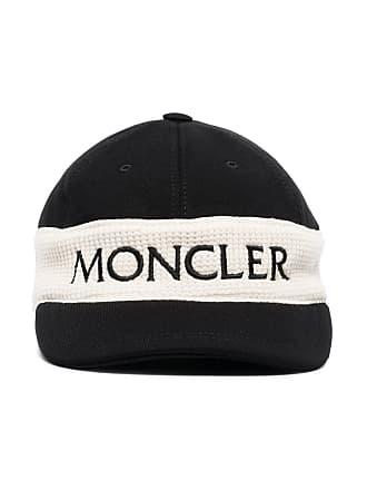 Moncler Boné com logo - Preto