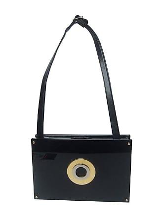 b76942fc02 1stdibs Sleek Black Lucite Clutch Style Shoulder Bag C 1970