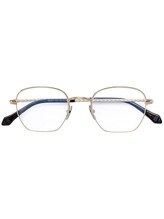 Brioni Armação de óculos redonda - Metálico