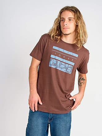 Hang Loose Camiseta Hang Loose Silk Leaf Marrom