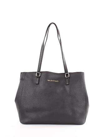 809993831d Mario Valentino Superman Womens Shoulder Bag, Black (Nero), 15.5x29x35  centimeters (