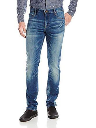 85cd1e74 William Rast Mens Hollywood Slim Fit Denim Jean, Wave, 31 x 30