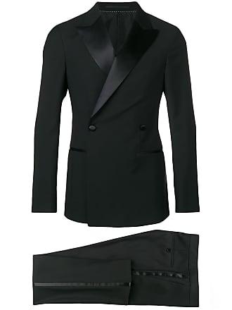 Ermenegildo Zegna double buttoned tuxedo - Black