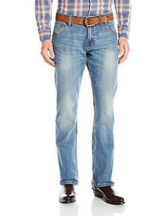 Wrangler Mens Retro Slim Fit Straight Leg Jean, Greybull, 31x30