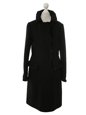 Prada mantel damen schwarz