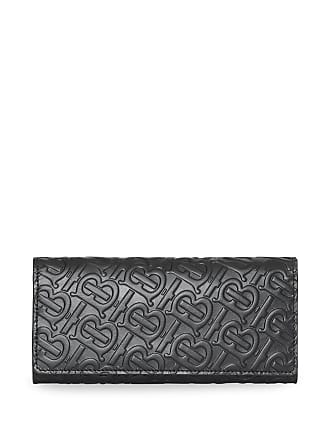 40770cdd4618 Burberry Monogram Leather Continental Wallet - Black