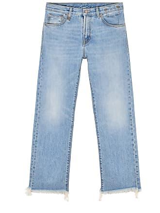 R13 Blue boyfriend jeans
