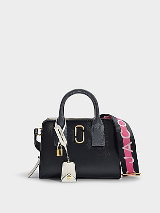74731ab697b1 Marc Jacobs Little Big Shot Bag in Black Leather with Polyurethane Coating