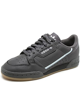 adidas Originals Tênis Couro adidas Originals Continental 80 Cinza