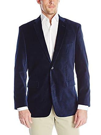 U.S.Polo Association Mens Velvet Blazer, Navy Velvet, 46 Long