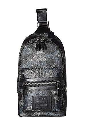 8518855fb8 Delivery: free. Coach Academy Pack in Signature Wild Beast (Grey) Cross  Body Handbags
