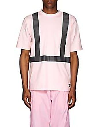 U.P.W.W. Mens Crisis Cotton T-Shirt - Pink Size S