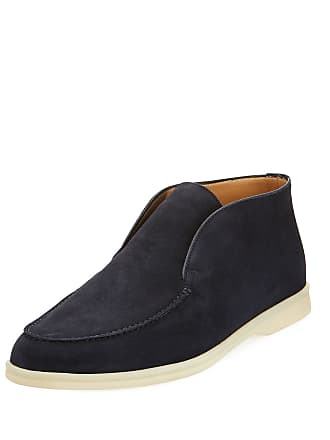 654e6f34331 Loro Piana Mens Open Walk Suede Chukka Boot