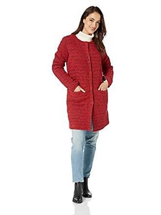 Nic+Zoe Womens Softlight Jacket, Ruby, Large