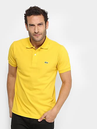 09f93d34d756a Lacoste Camisa Polo Lacoste Piquet Original Masculina - Masculino