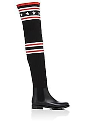 dcf98968cacf Givenchy Womens Storm Knit Over-The-Knee Boots - Black Size 6
