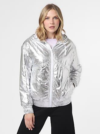 Calvin Klein Jeans Damen Jacke grau