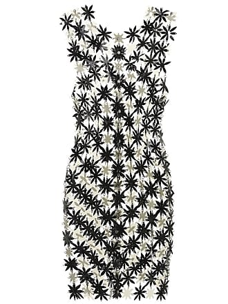 Paco Rabanne Floral PVC and chain dress