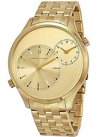Armani Relógio Masculino Armani Exchange Hampton Dourado Ax2176/4dn