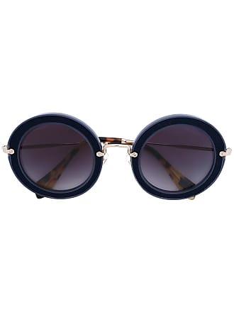 45c7e37b37929 Miu Miu® Round Sunglasses − Sale  up to −40%