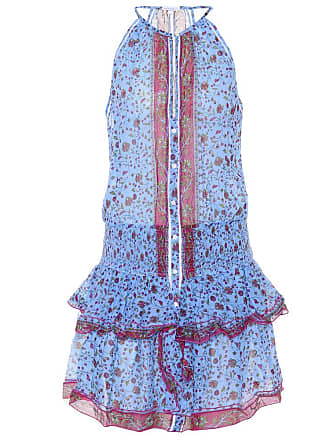 Poupette St Barth Exclusive to Mytheresa - Honey floral cotton minidress