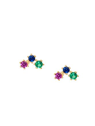 Shashi Star Cluster Stud- Rainbow