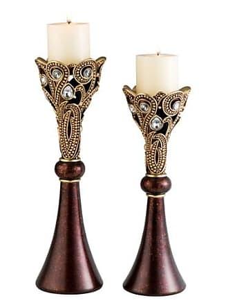 ORE Ore International Moselle CandleHolders - Set of 2