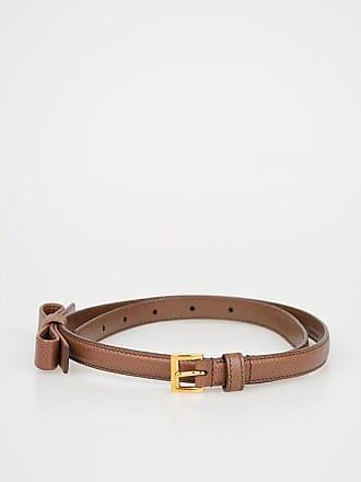 244e75cbdf8bc Prada 15 mm Saffiano Leather Skinny Belt Größe 75