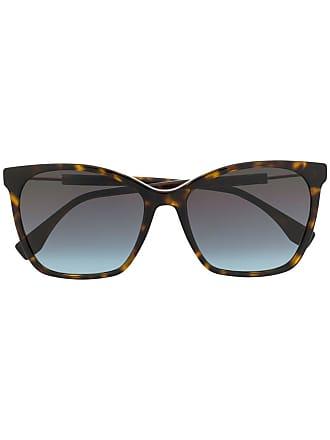 Fendi Óculos de sol gatinho - Marrom