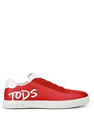 Tod s Sneaker Logo Patch Rosse XXM0XY0Y170TF83DDF Rosso Uomo 5 a5d49d8da8a