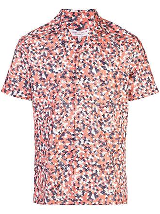 Orlebar Brown Camisa Travis - Rosa