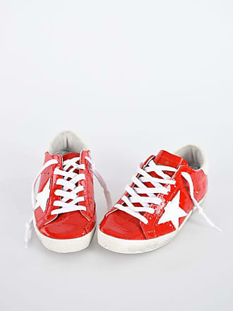 Golden Goose Patent Leather SUPERSTAR Sneakers size 35