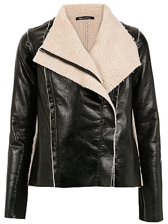 Uma Real shearling jacket - Black
