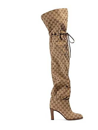 a014b5d745c Gucci Original GG canvas over-the-knee boot